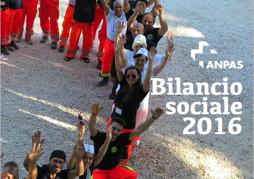 Bilancio Sociale 2016 Anpas